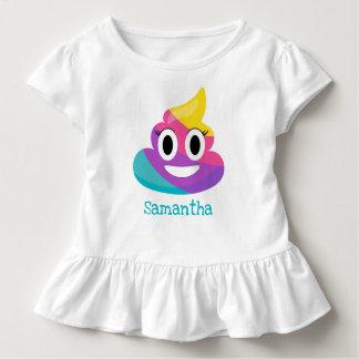 T-shirt Pour Les Tous Petits Dunette Emoji d'arc-en-ciel
