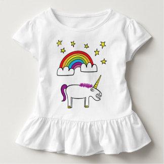 T-shirt Pour Les Tous Petits Eunice la licorne - pièce en t de ruche d'enfant