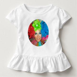 T-shirt Pour Les Tous Petits farceur d'arc-en-ciel de cirque de clown