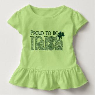 T-shirt Pour Les Tous Petits Fier d'être irlandais, noeud de Celtic de Jour de