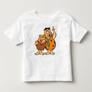 T-shirt Pour Les Tous Petits Flintstone de blocaille et de Fred de prise de bec