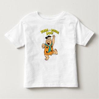 T-shirt Pour Les Tous Petits Flintstone Yabba-Dabba Doo de Fred !