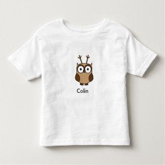 T-shirt Pour Les Tous Petits Hibou de renne