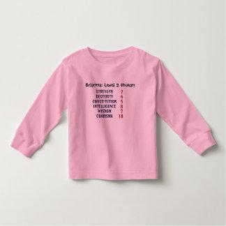 T-shirt Pour Les Tous Petits Humain du niveau 2