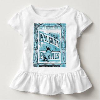 T-shirt Pour Les Tous Petits I livres vintages de coeur - je suis un chat
