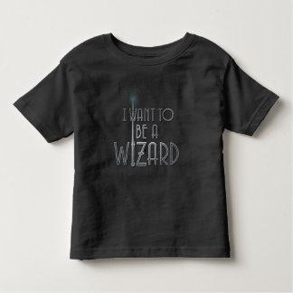 T-shirt Pour Les Tous Petits Je veux être un magicien
