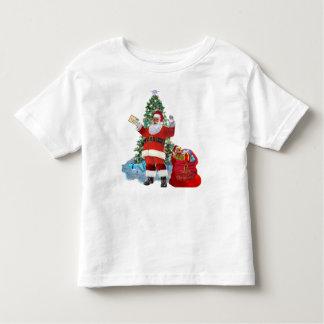 T-shirt Pour Les Tous Petits Joyeux Noël de Père Noël
