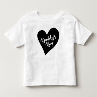 T-shirt Pour Les Tous Petits Le garçon du papa