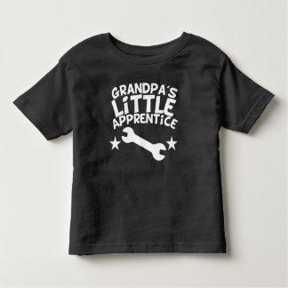 T-shirt Pour Les Tous Petits Le petit apprenti du grand-papa