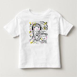T-shirt Pour Les Tous Petits Les chiens et les filles sont des meilleurs amis