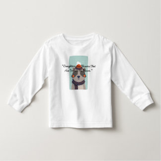 """T-shirt Pour Les Tous Petits Les """"filles sont des fleurs qui sont pour toujours"""