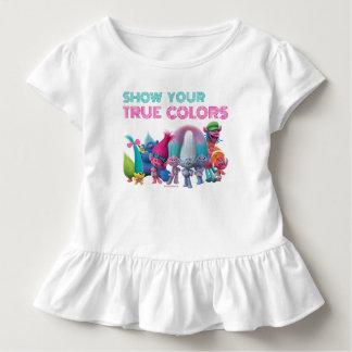 T-shirt Pour Les Tous Petits Les meilleurs Troll amis des trolls |