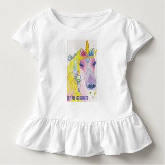 T-shirt Pour Les Tous Petits Licorne : Mangez mes étincelles