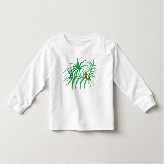 T-shirt Pour Les Tous Petits Lingot sur la longue pièce en t de douille de