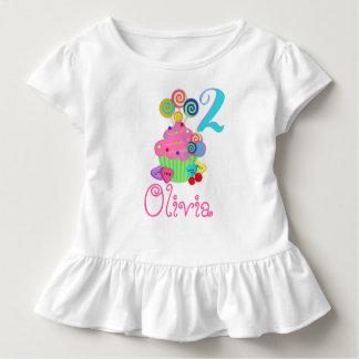 T-shirt Pour Les Tous Petits Lucettes de bonbon à la chemise | d'anniversaire