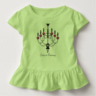 T-shirt Pour Les Tous Petits Lustre de Girlie de Français