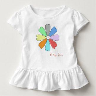 T-shirt Pour Les Tous Petits Ma pièce en t heureuse de tombola d'enfant en bas