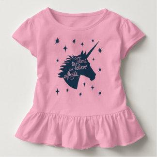 T-shirt Pour Les Tous Petits Magie de licorne