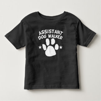 T-shirt Pour Les Tous Petits Marcheur auxiliaire de chien