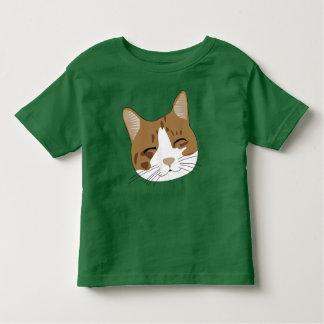 T-shirt Pour Les Tous Petits Minou heureux