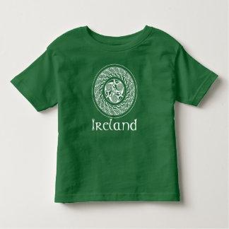 T-shirt Pour Les Tous Petits Motif irlandais de médaillon de Knotwork de Celtic