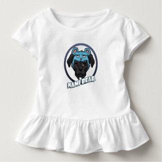 T-shirt Pour Les Tous Petits NamiBear le logo de pitbull