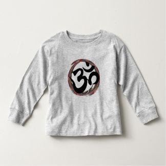 T-shirt Pour Les Tous Petits Ohm coloré de zen
