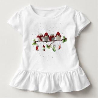 T-shirt Pour Les Tous Petits oiseaux de christmass