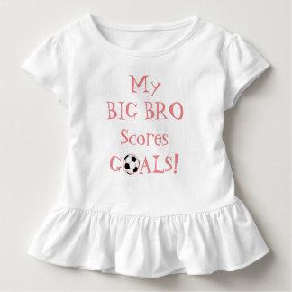 T-shirt Pour Les Tous Petits Peu de SIS… Mon grand Bro marque des buts !