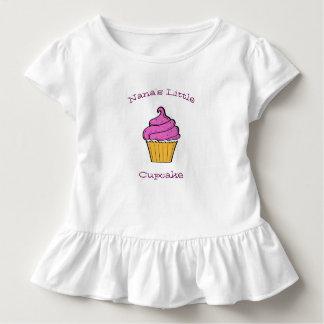T-shirt Pour Les Tous Petits Peu d'enfant en bas âge T du petit gâteau de Nana