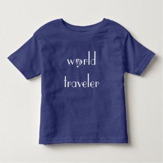 T-shirt Pour Les Tous Petits Pièce en t d'enfant en bas âge de logo de voyageur