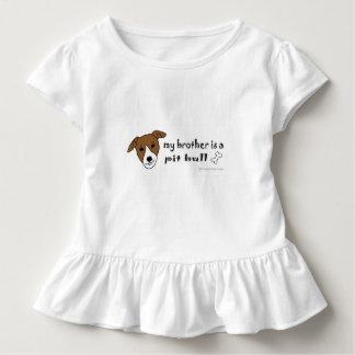 T-shirt Pour Les Tous Petits pitbull