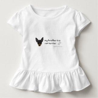 T-shirt Pour Les Tous Petits Rat terrier - plus multiplie