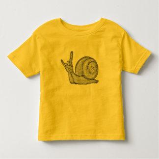 T-shirt Pour Les Tous Petits Roche d'escargots