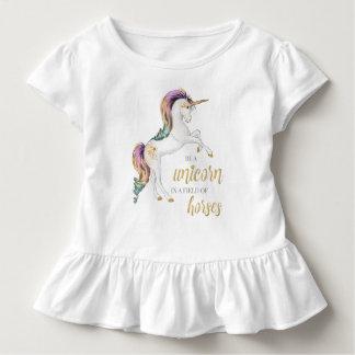 T-shirt Pour Les Tous Petits Soyez toujours une pièce en t de licorne