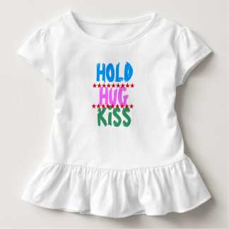 T-shirt Pour Les Tous Petits TENEZ LE BAISER D'ÉTREINTE :  Partie d'amis