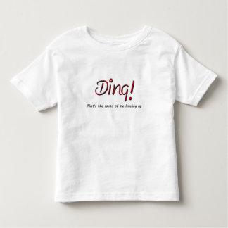 T-shirt Pour Les Tous Petits Tintement ! Chemise d'anniversaire d'enfant en bas