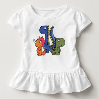 T-shirt Pour Les Tous Petits Un ami lunatique de dinosaure, mignon et adorable