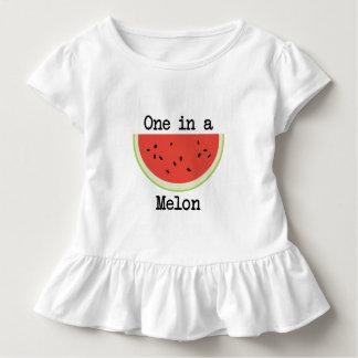 T-shirt Pour Les Tous Petits Un dans un melon