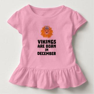 T-shirt Pour Les Tous Petits Vikings sont en décembre Z0oki nés