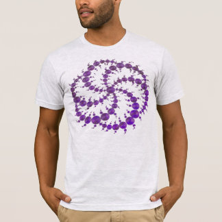 T-shirt Pourpre de cercle de culture