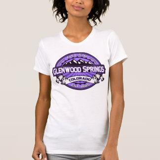 T-shirt Pourpre de chemise de logo de Glenwood