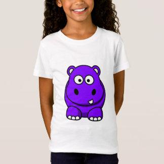 T-Shirt Pourpre d'hippopotame