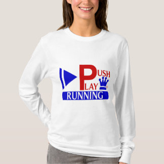 T-shirt Poussez le fonctionnement sportif d'usage de jeu
