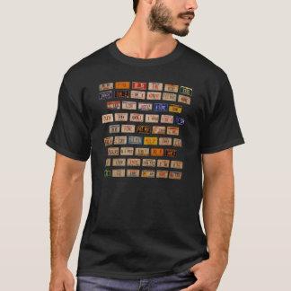 T-shirt Préambule dans des plats DF01