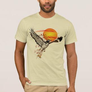 T-shirt Prédiction rencontrant le soleil de matin.