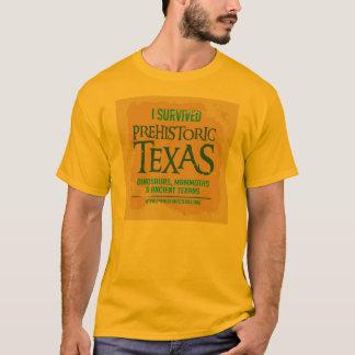T-shirt préhistorique de traînée du Texas de