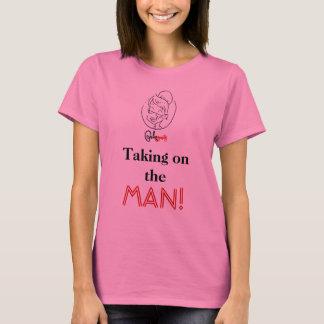 T-shirt Prendre l'HOMME !