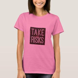 T-shirt Prenez le rouge de risques