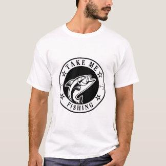 T-shirt Prenez-moi la pêche